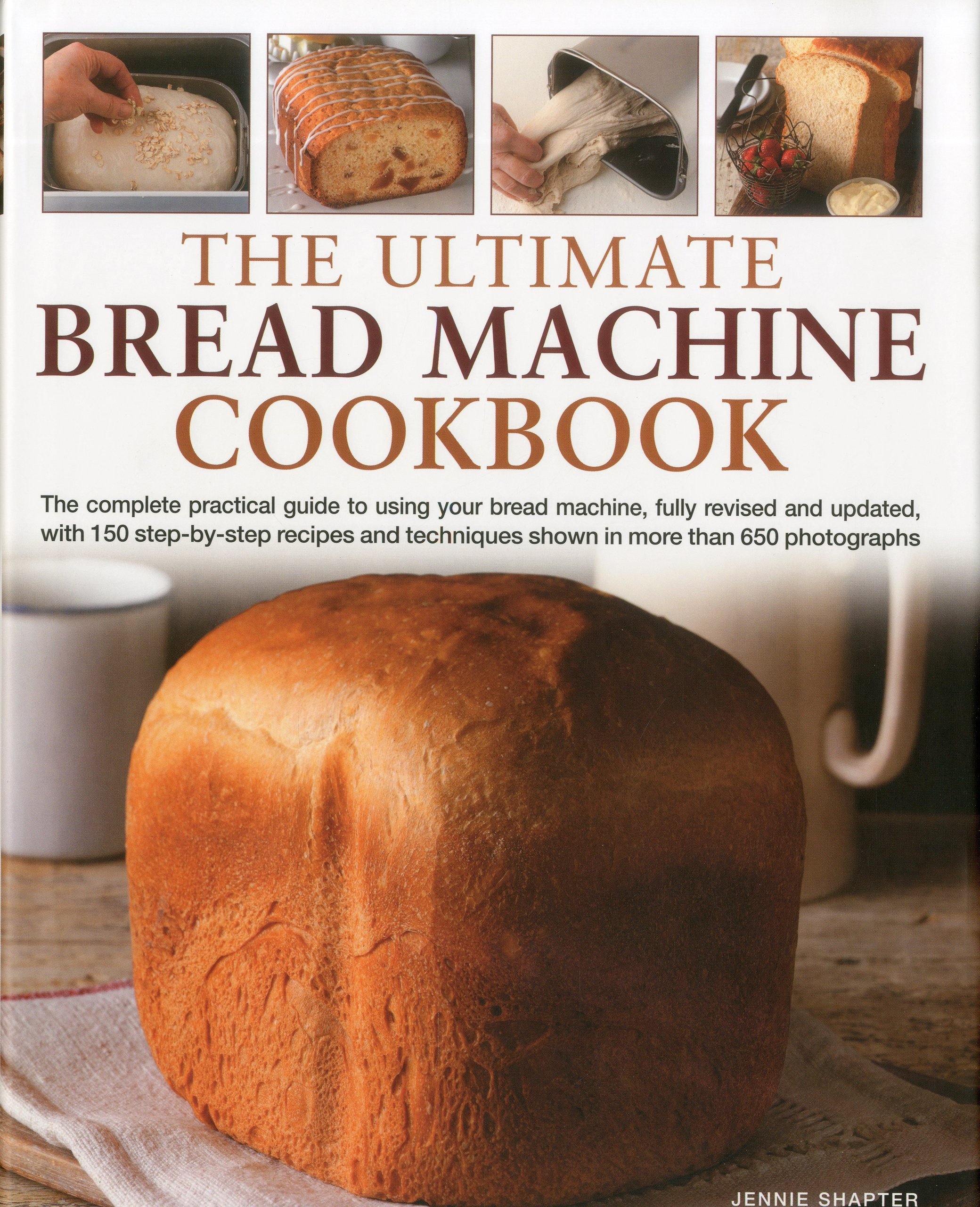 The Ultimate Bread Machine Cookbook Amazon Co Uk Jennie