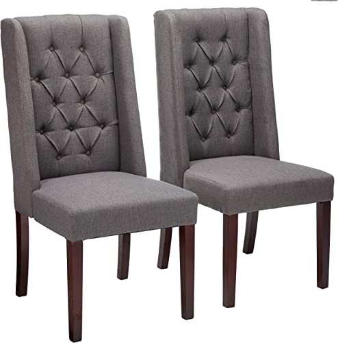 Christopher Knight Home 302439 Blythe Tufted Fabric Dining Chair