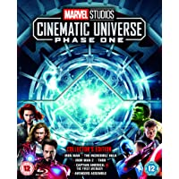 Marvel Studios Collector's Edition Box Set Phase 1 - 6-Film Collection + Collectible Art Cards and Poster [Blu-ray] [Region Free]