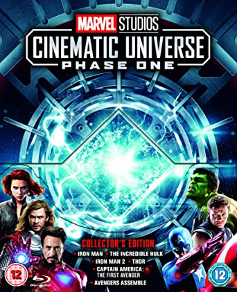 Amazon com: Marvel Studios Cinematic Collection Phase 1 [Blu-ray