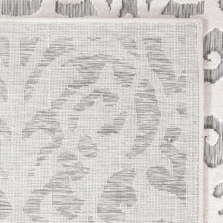 Orian Rugs 435825 Indoor//Outdoor Lady Bird Area Rug 311 x 55 Natural//Grey
