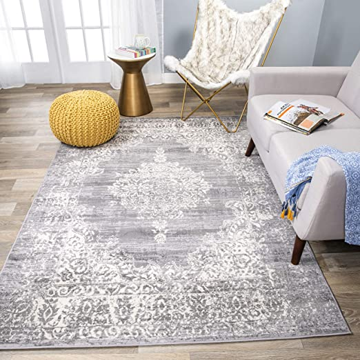 Amazon Com Rugshop Vintage Distressed Traditional Design Area Rug