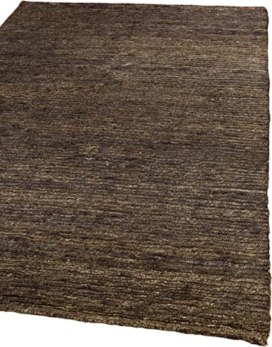 Safavieh Organica Collection ORG213A Hand-Knotted Brown Wool Area Rug 9 x 12