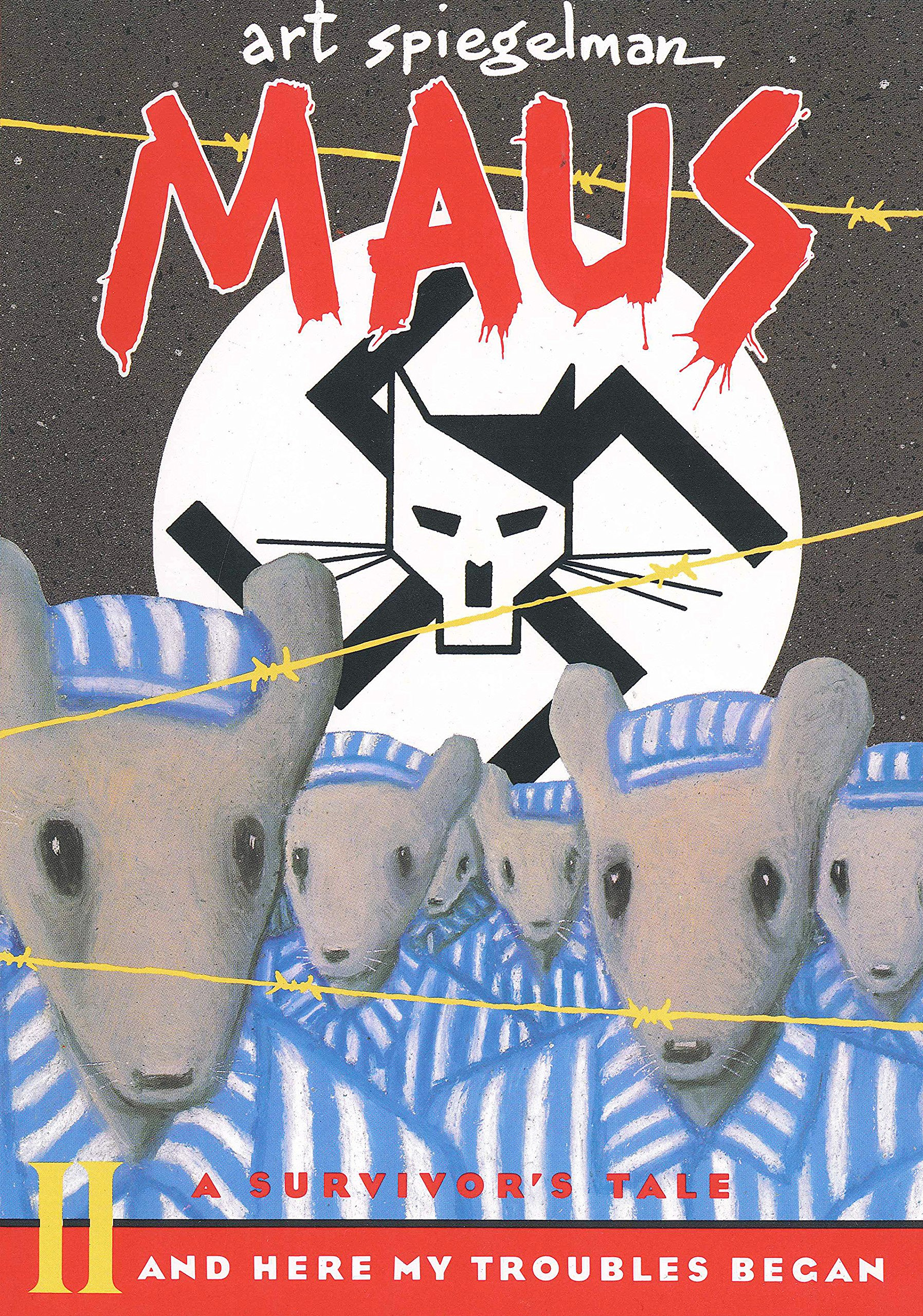 Maus II cover