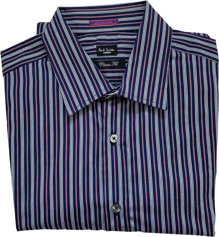 Paul Smith - Camisa Formal - para Hombre Multicolor Multicolor 16.5: Amazon.es: Ropa y accesorios