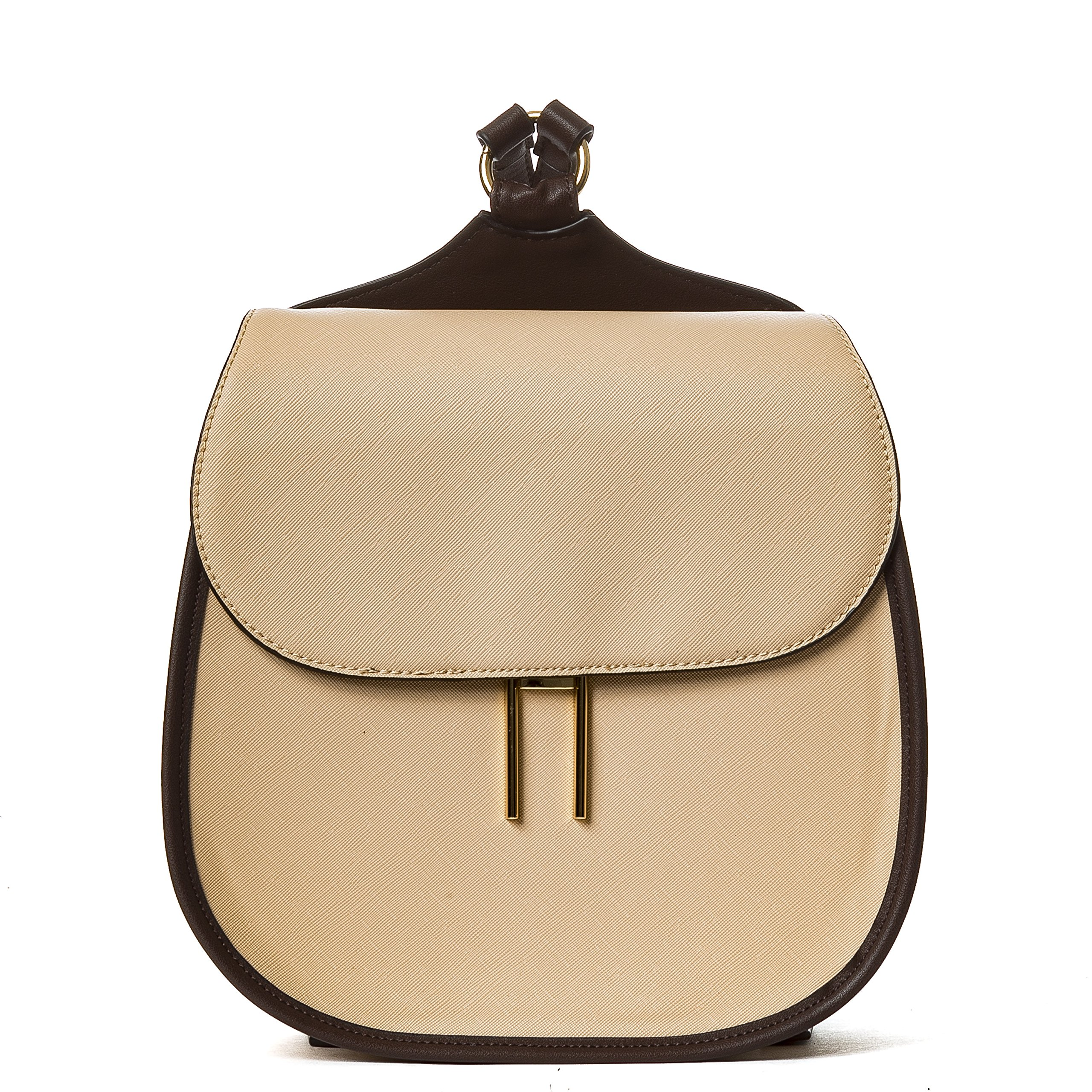 Handbag Republic PU Small Leather Backpack Cute Korean Style School Travel Bag For Gilrs Ladies and Women
