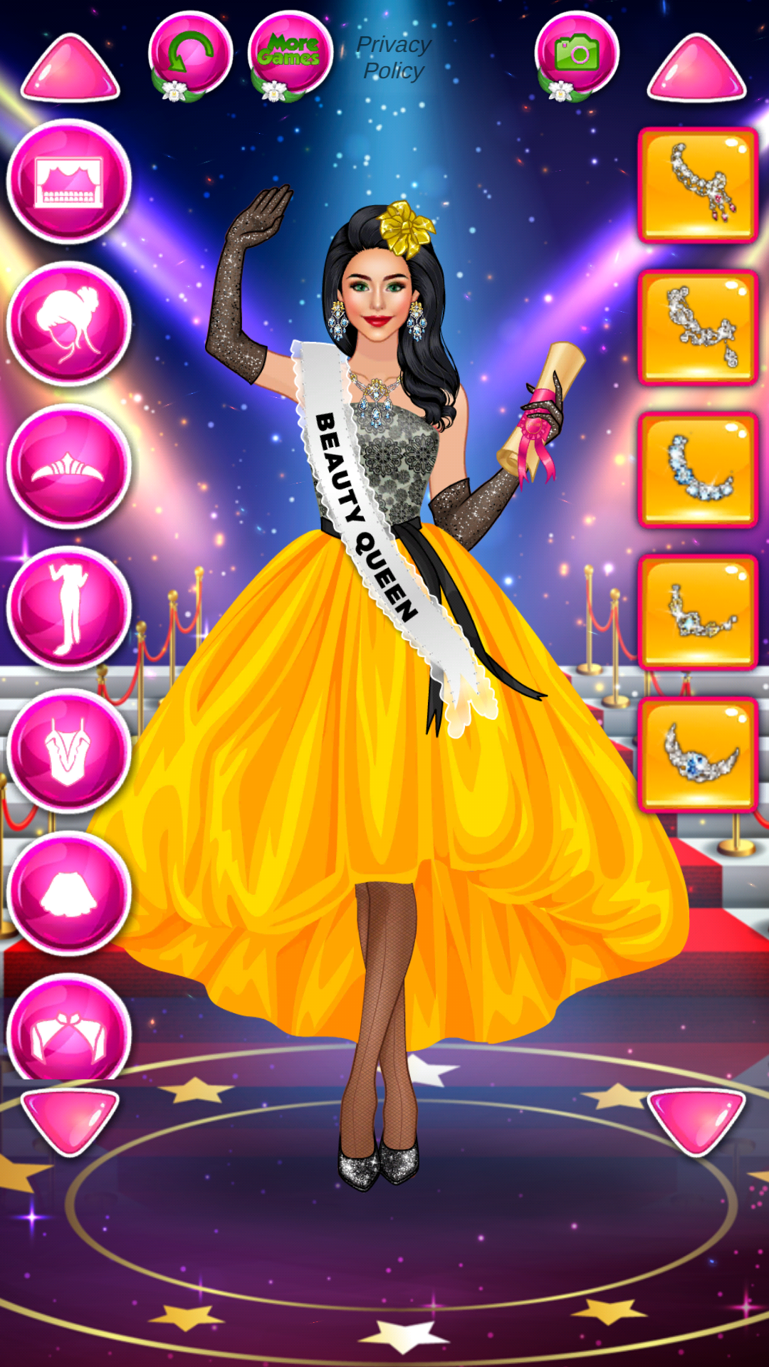 Amazon Com Beauty Queen Dress Up Star Girl Fashion Games Appstore For Android