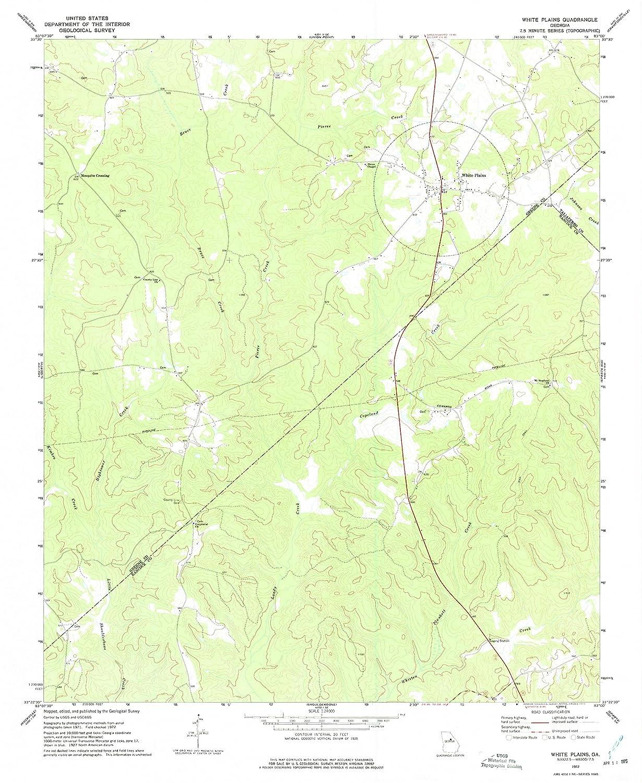 Amazon.com : YellowMaps White Plains GA topo map, 1:24000 ... on plains mt map, plains pa map, plains ks map, plains georgia, plains washington map, high plains topographic map, plains illinois map, plains ga sumter county murders, plains tx map, plains state map, plains ga restaurants,