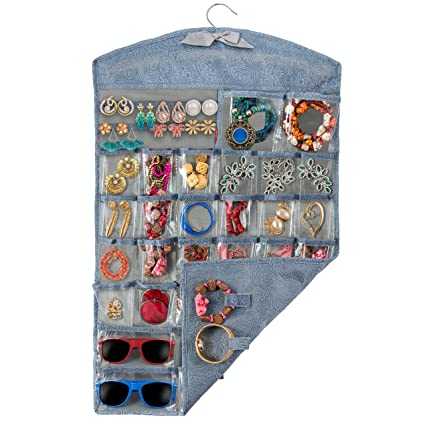 Amazoncom Unjumbly Hanging Jewelry Organizer from Surpassing all