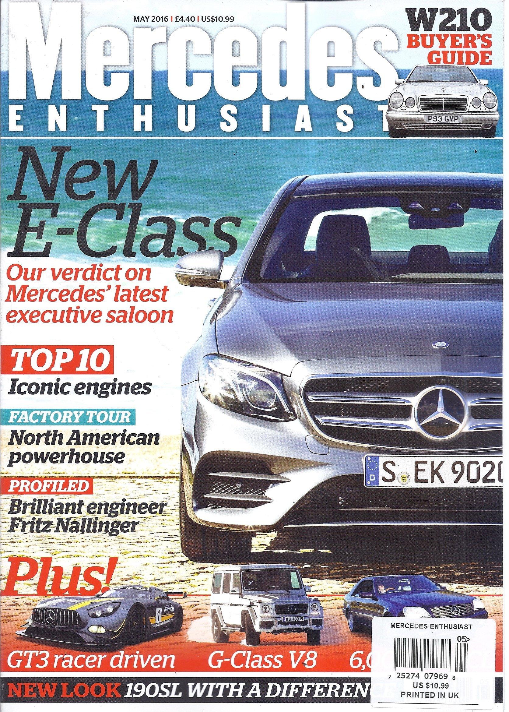 Mercedes Enthusiast Magazine (May 2016): V: Amazon com: Books