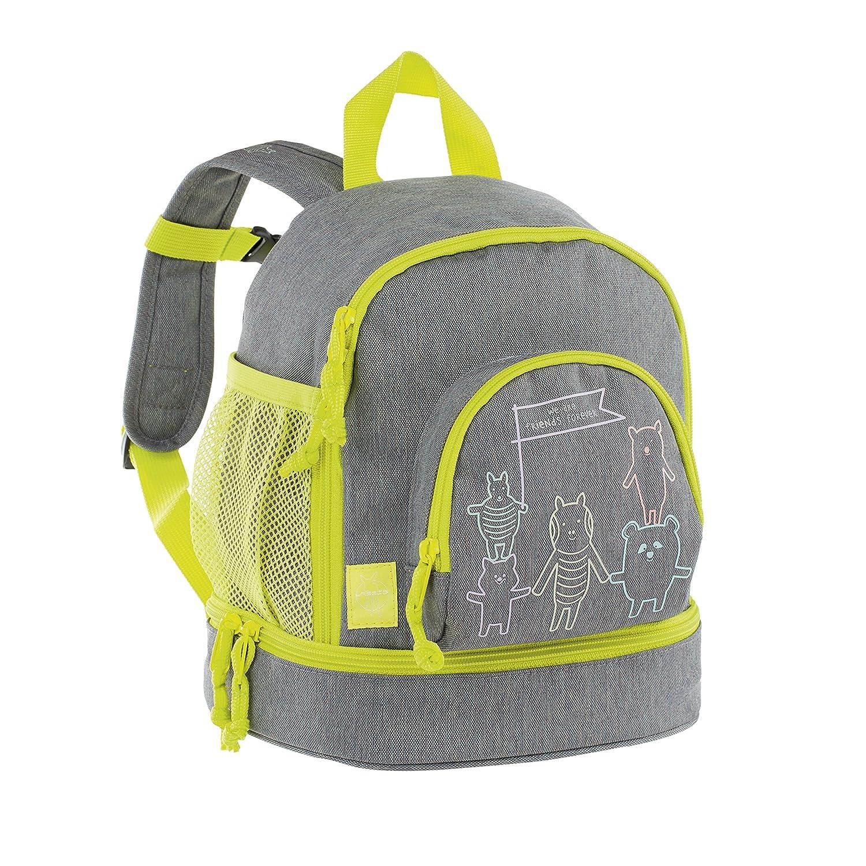 Lässig Mini Backpack About Friends mélange Grey Mochila Infantil, 27 cm, Gris (Grey): Amazon.es: Equipaje