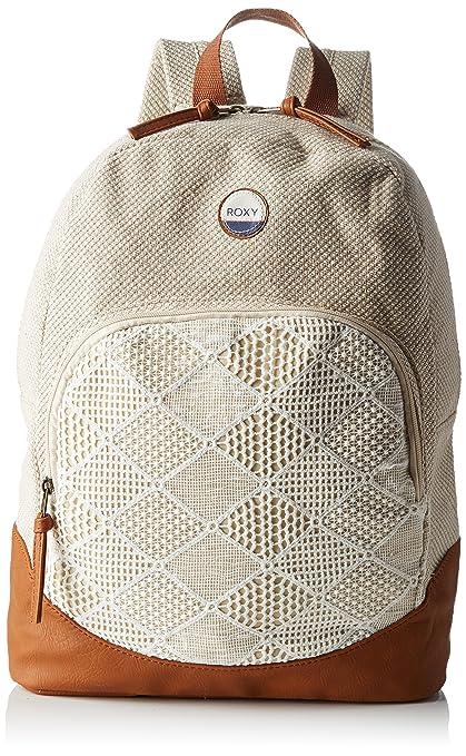 Roxy Bombora - Bolso mochila para mujer blanco Blanco (Natural) 32x14,5x40 cm