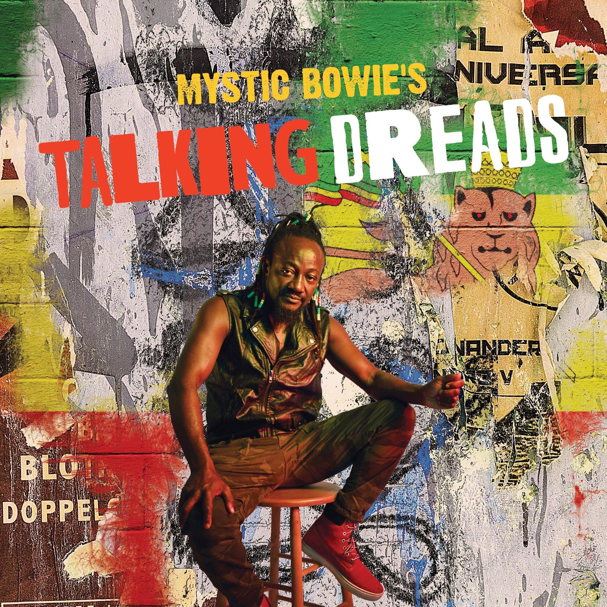 CD : Mystic Bowie - Talking Dreads (CD)