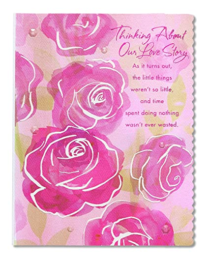 Amazon Com American Greetings Love Story Mother S Day Card For Wife