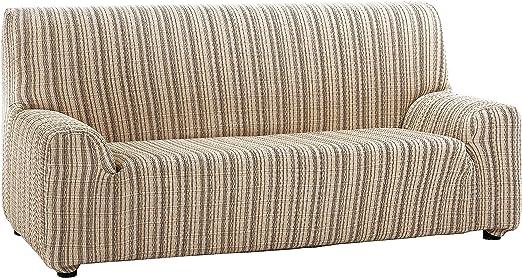 Martina Home Mejico - Funda de sofá elástica, Beige, 3 Plazas, 180 a 240 cm de ancho: Amazon.es: Hogar