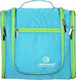 Premium Toiletry Bag By Freegrace - Large Travel Essentials Organizer - Durable Hanging Hook - For Men & Women - Perfect For Accessories, Cosmetics, Personal Items, Shampoo, Body Wash
