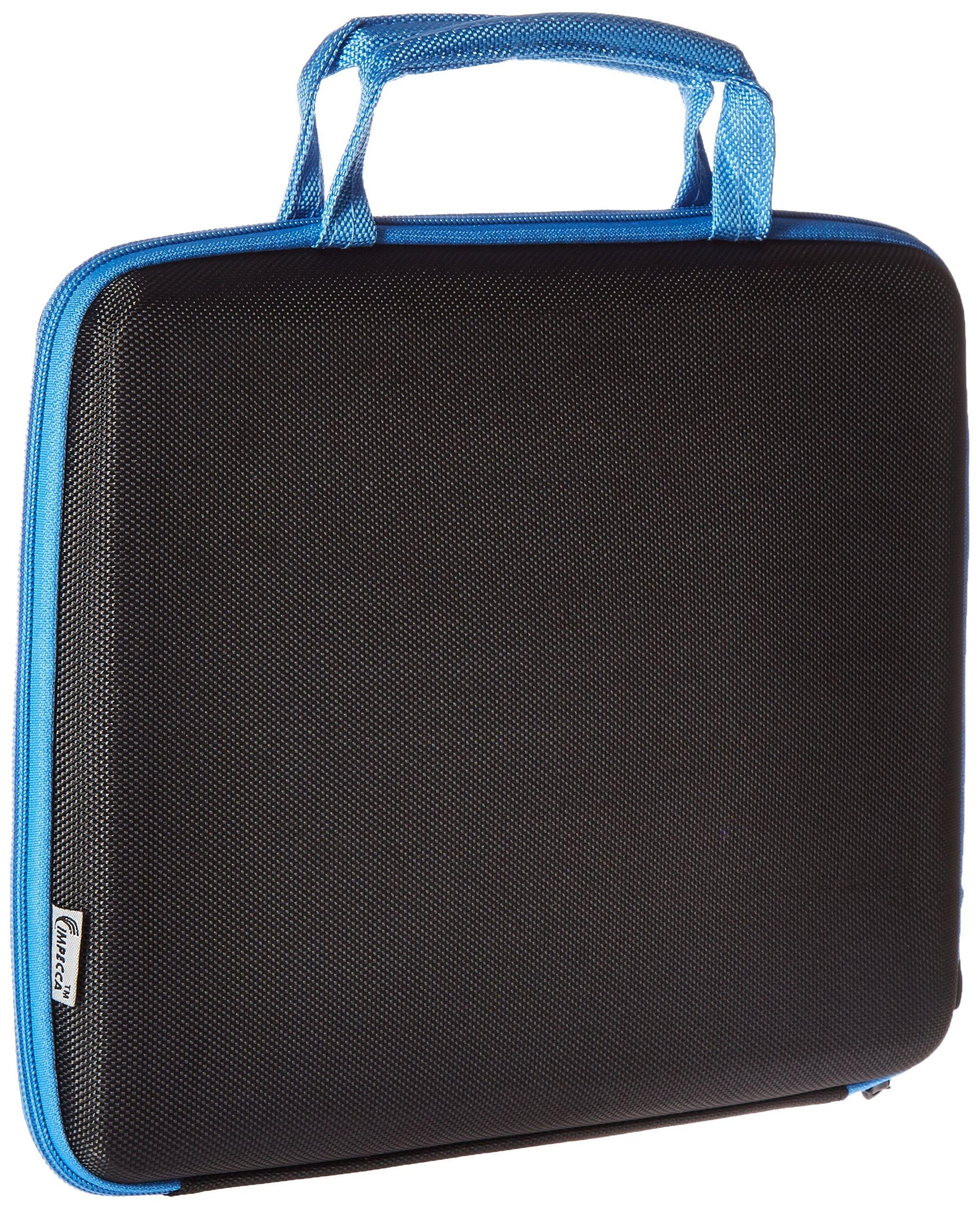 I Love NY Sleek Netbook Case, Black/Blue (ILNLAP1160KB) by I Love NY (Image #2)