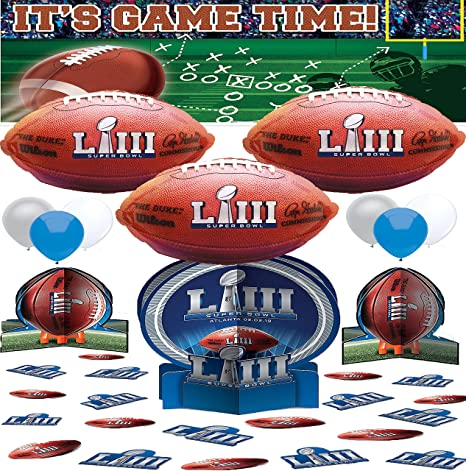 Amazon Com Super Bowl Liii 53 Party Supplies Pack Of Banner