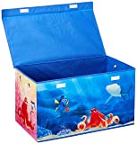 Folding Soft Storage Bench, Perfect Toy Box or