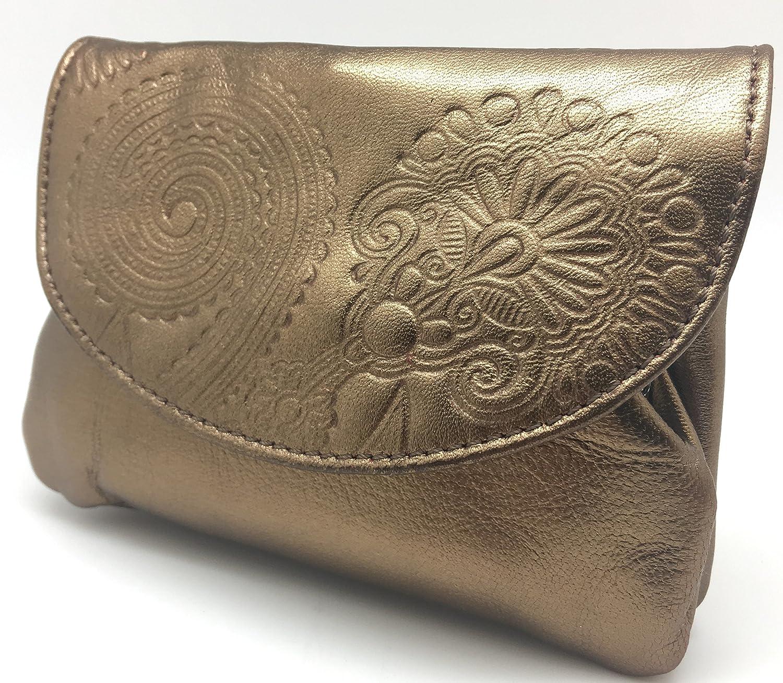 Cartera Portamonedas Monedero para Mujer Marca: Lugupell - Color: Oro Viejo (12,5 x 9 cm): Amazon.es: Equipaje