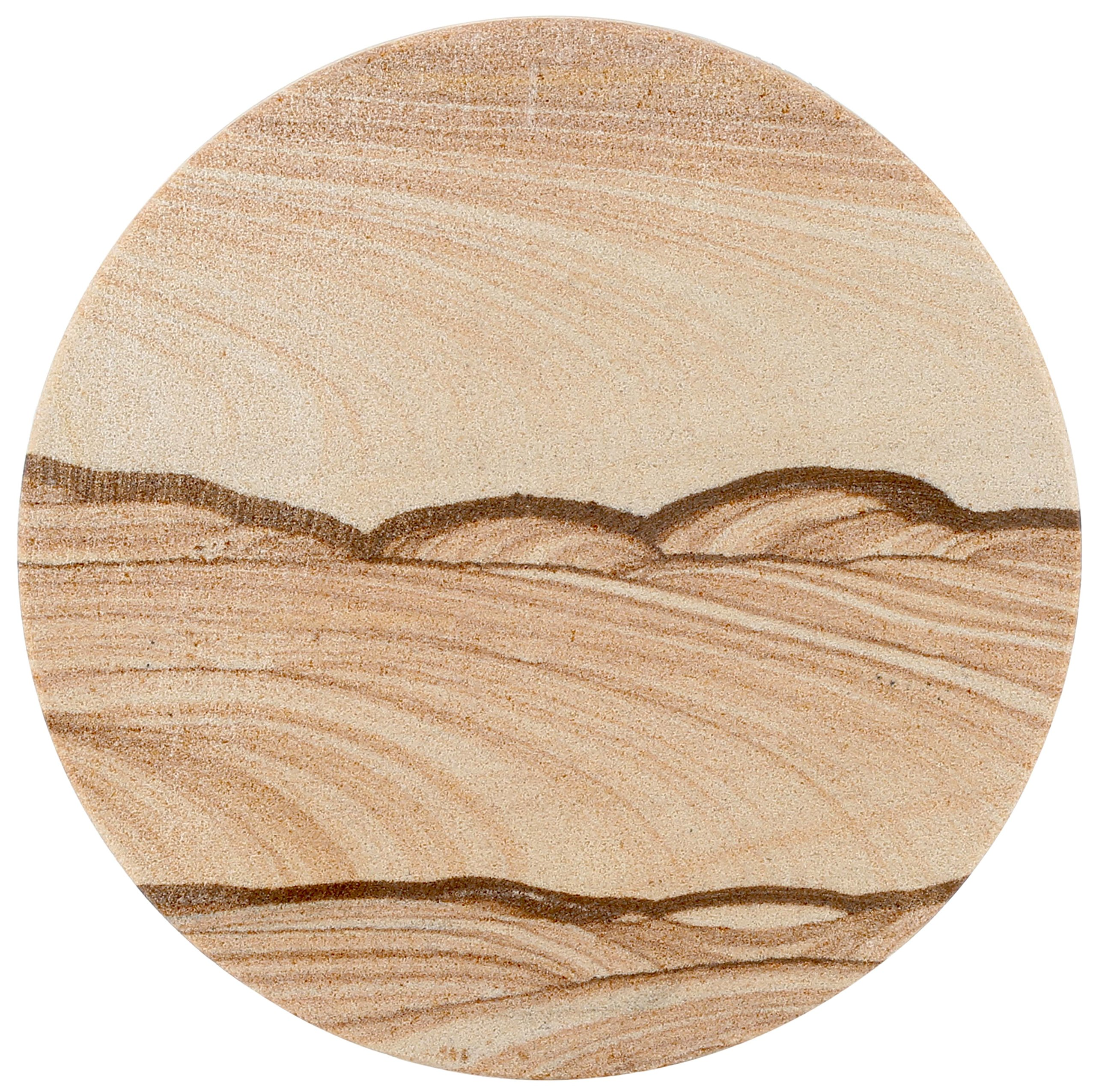 Thirstystone Drink Coasters, Tan