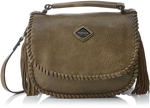 Refresh 83102, Women s Messenger Bag, Marrón (Taupe), 29x23x13 cm (W ... 6c822b7a48