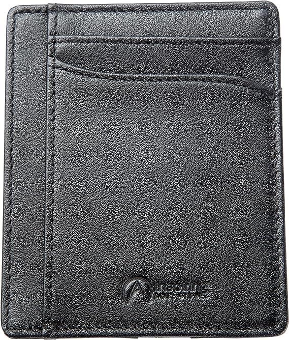 Minimalistic Gift Ideas Unisex Resin /& Wooden Wallet Travel Wallet Lifetime Guarantee RFID Protection Slim Card Wallet