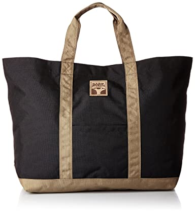 Tote Bag L T235: Black / Beige