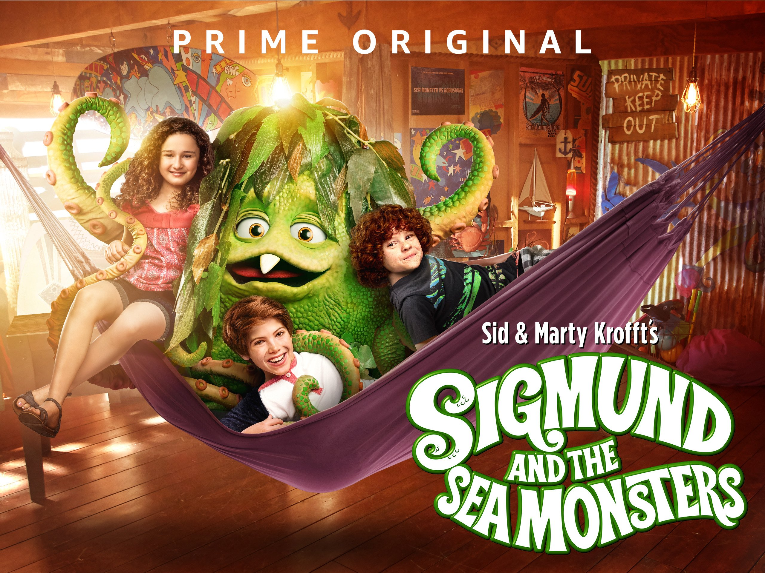 Amazon Watch Sigmund And The Sea Monsters