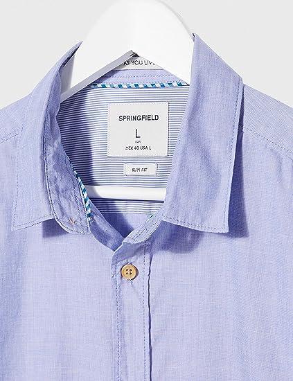 Camisa casual Hombre Springfield Camisa Fil A Fil Franq-c//12