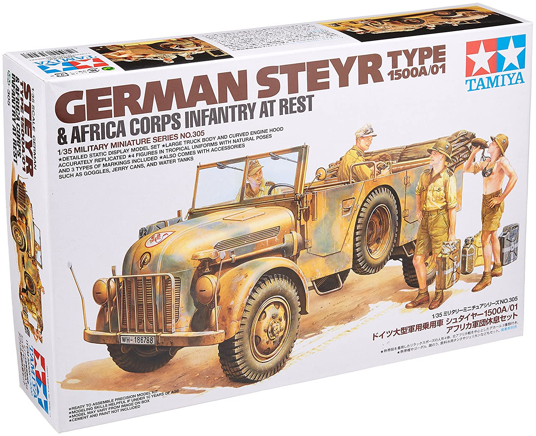 Tamiya Models German Steyr Type 1500A//01 Model Kit