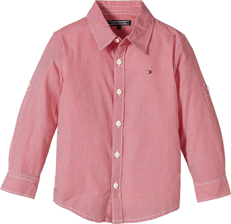 Tommy Hilfiger Riverside Check Shirt L/S, Camisa para Niños ...