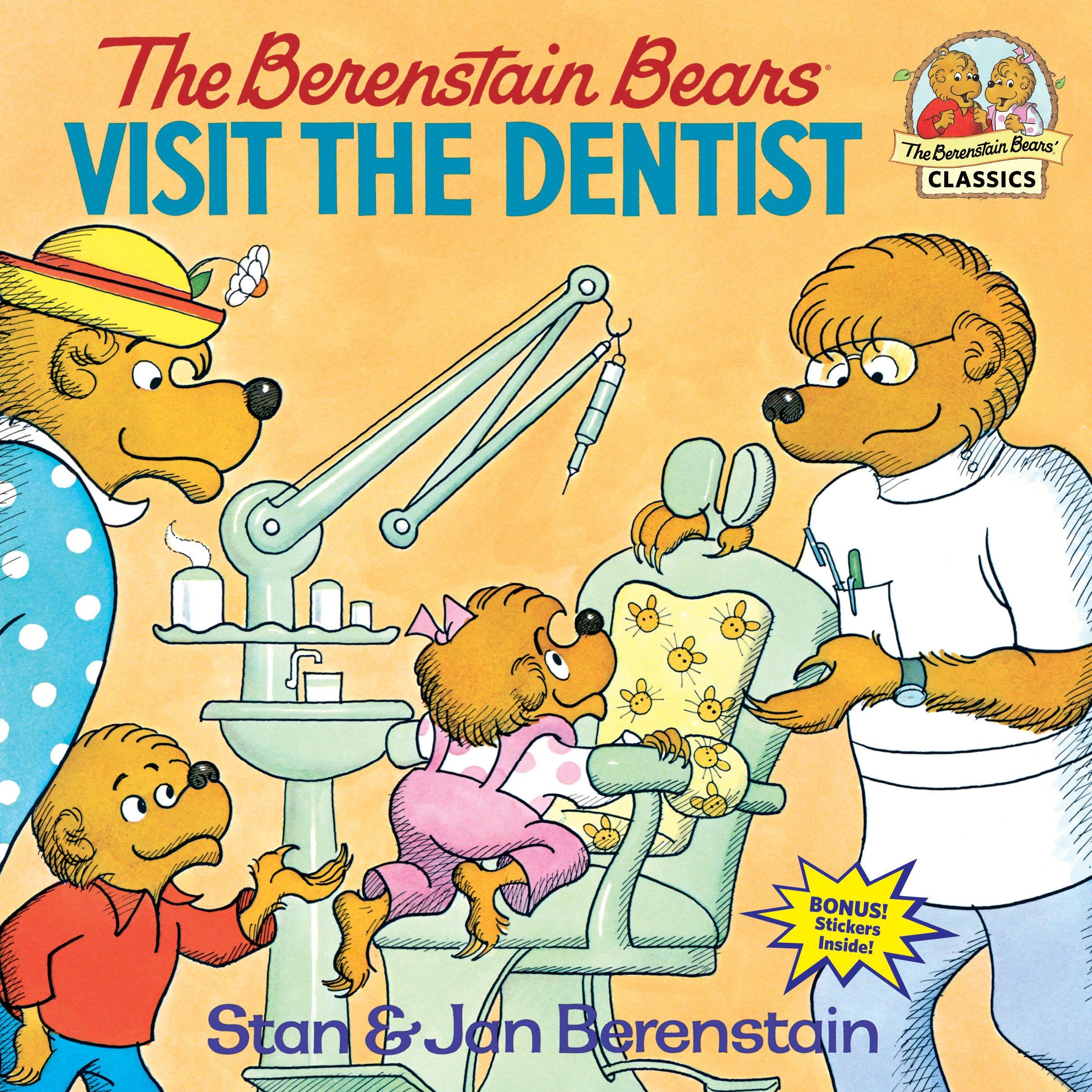 The Berenstain Bears Visit the Dentist: Berenstain, Stan, Berenstain, Jan:  8601400994962: Amazon.com: Books