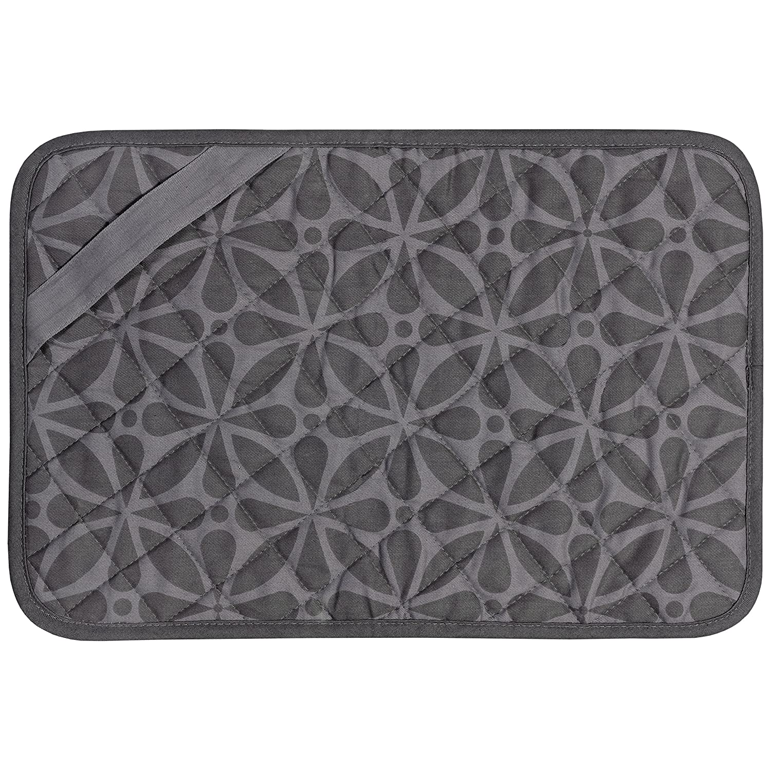 Envision Home 422300 Trivet Mat, 11 by 17-Inch, Black Schroeder & Tremayne Inc. 422301