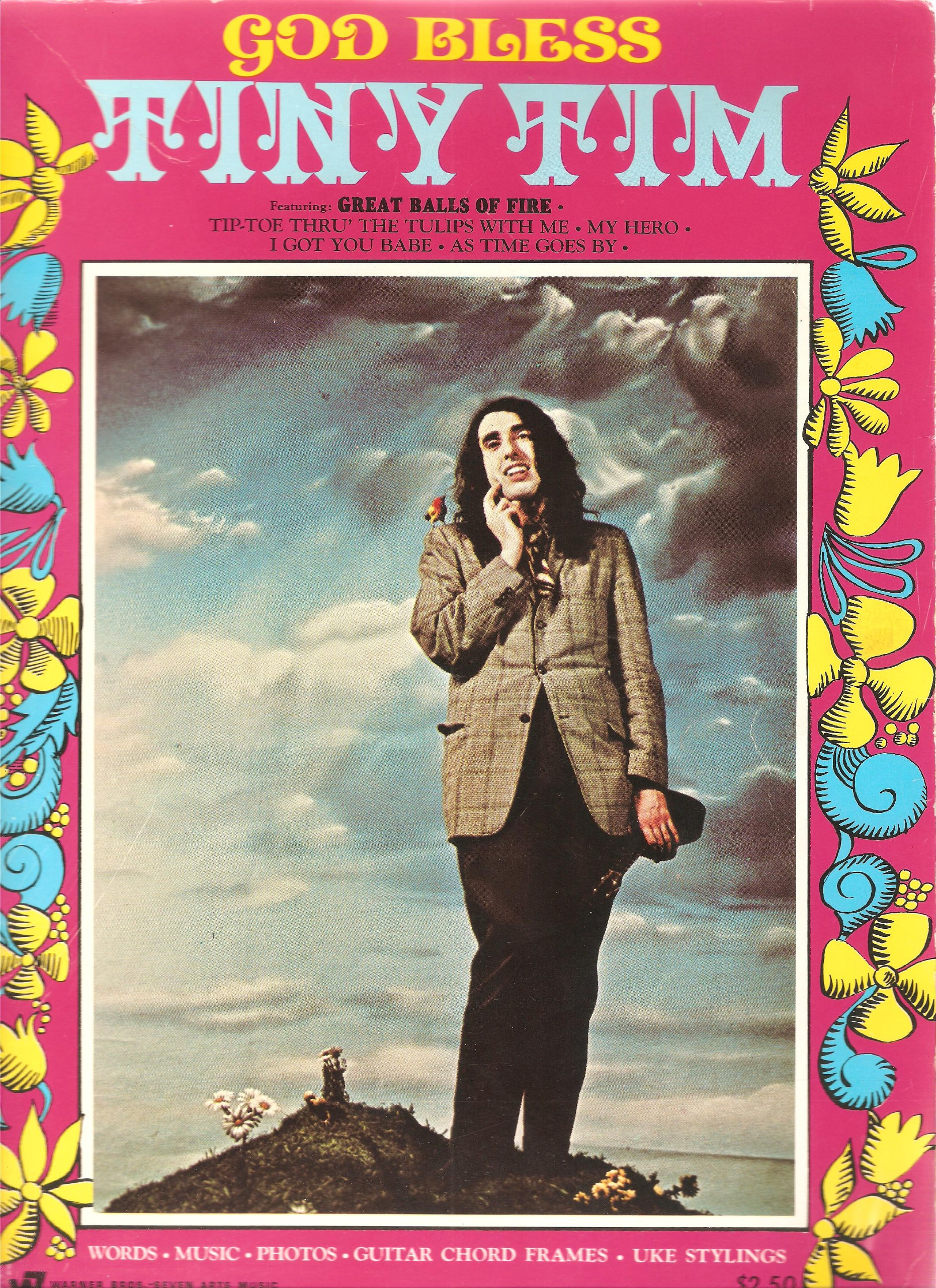 God Bless Tiny Tim Sheet Music Book Words Music Photos Guitar