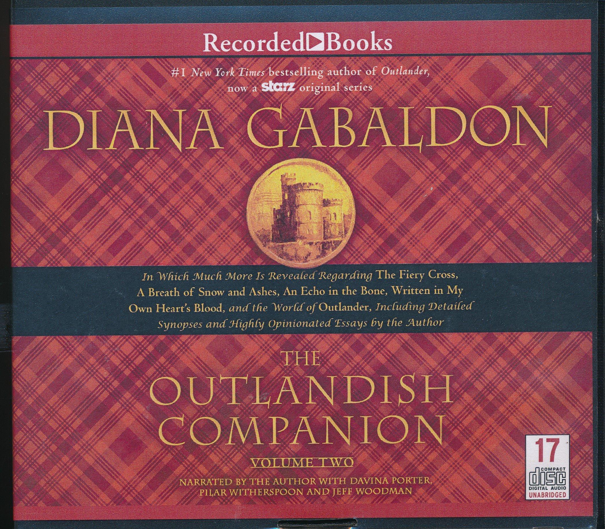 The Outlandish Companion Volume Two: Diana Gabaldon, Pilar Witherspoon,  Jeff Woodman: 9781490691213: Amazon.com: Books