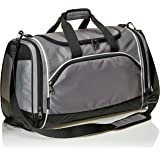 AmazonBasics Lightweight Durable Sports Duffel Gym and Overnight Travel Bag