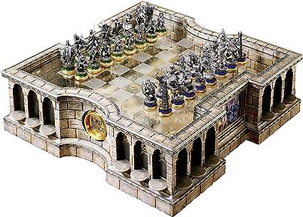 The Noble Collection Chess Set El señor de los Anillos: Amazon.es: Juguetes y juegos