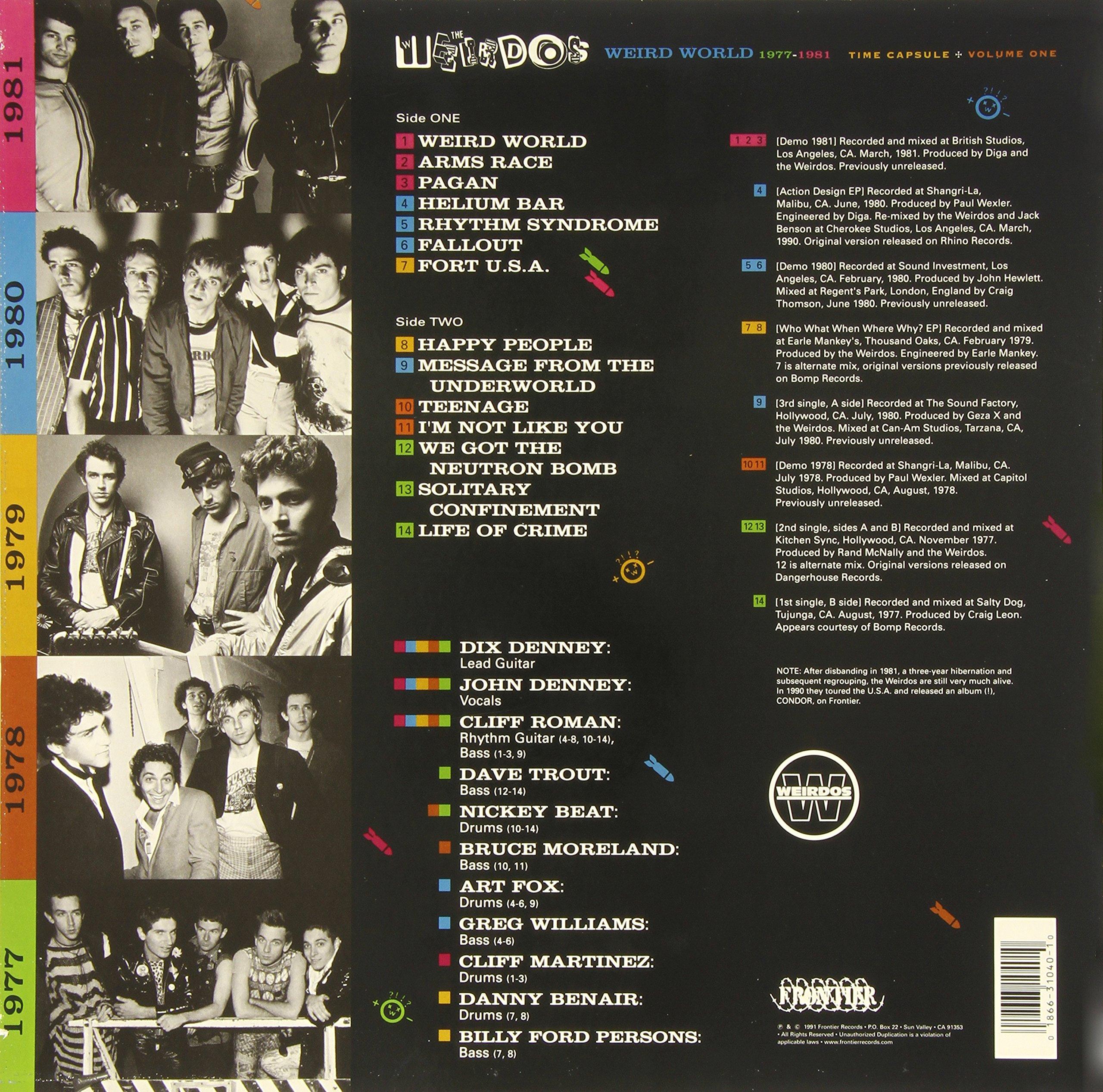 Vol. 1-Weird World [Vinyl]