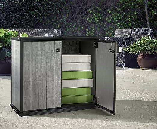 Keter Aufbewahrungsbox Patio Store, Grau, 1m³: Amazon.de: Garten