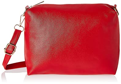 Alessia74 Women's Messenger Bag (Red) (PBG247B)