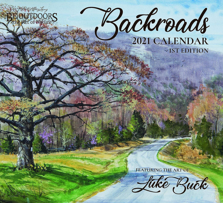 Amazon.com : 2021 Backroads Wall Calendar : Sports & Outdoors