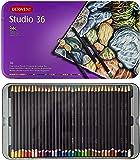 Derwent Studio Confezione da 36 Matite Colorate in Scatola di Metallo