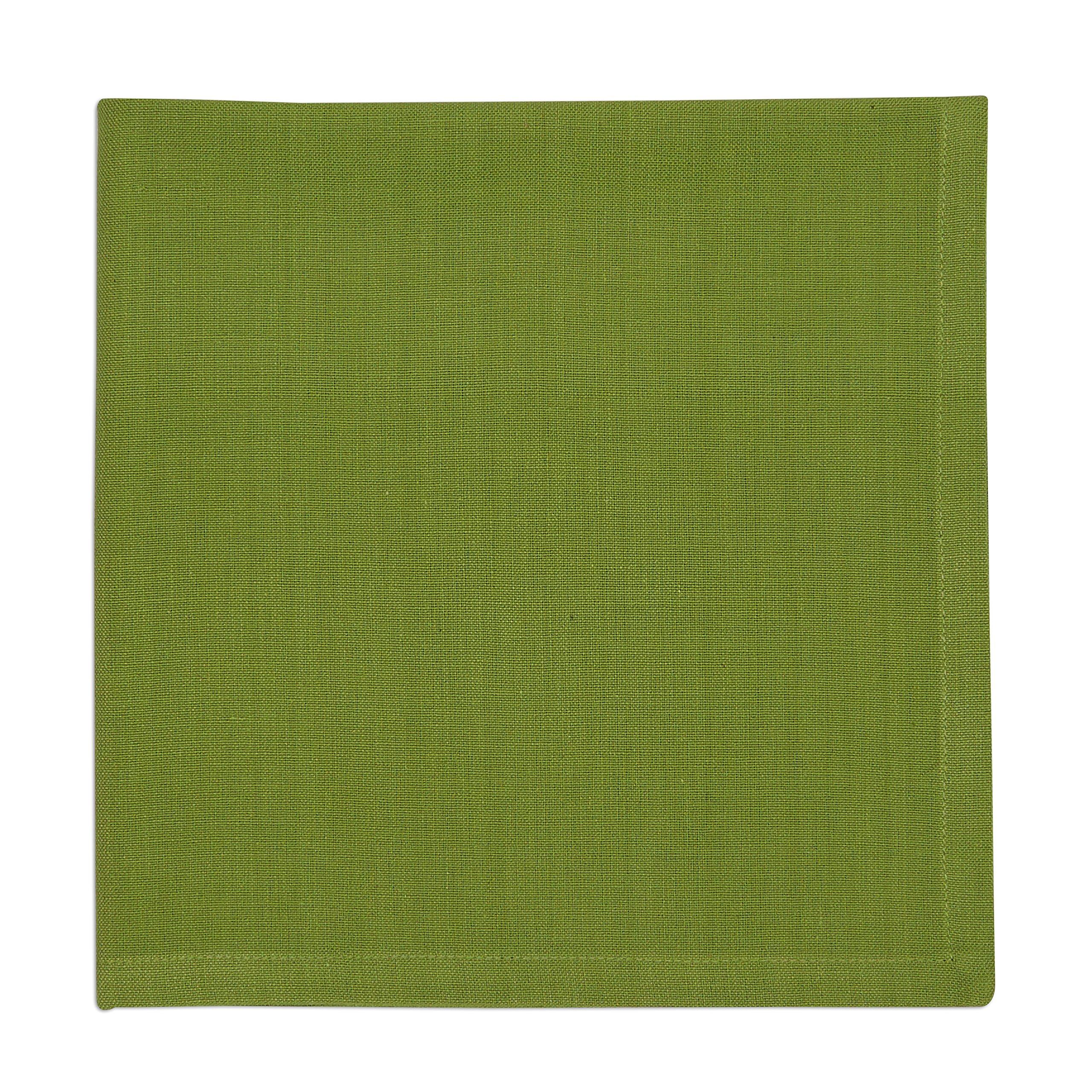 DII 100% Cotton, Oversized Basic Everyday 20x20 Napkin Set of 6, Black