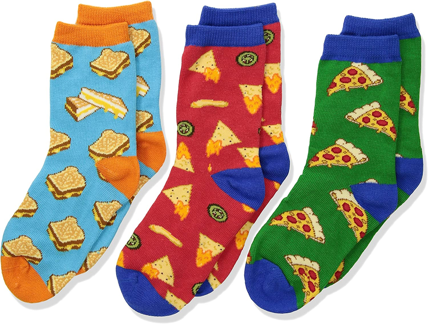 Socksmith Childrens Crazy Cheesy Snack Food Socks