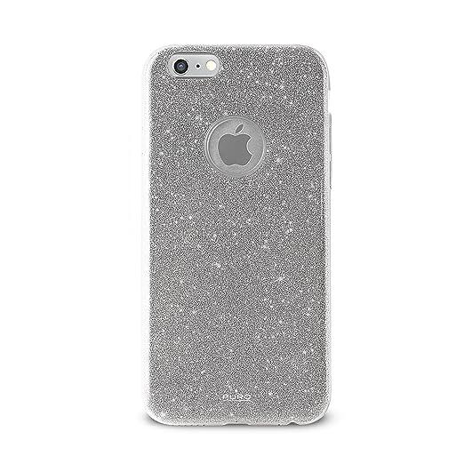 6 opinioni per Puro IPC647SHINESIL Custodia per iPhone 6/6s, Argento