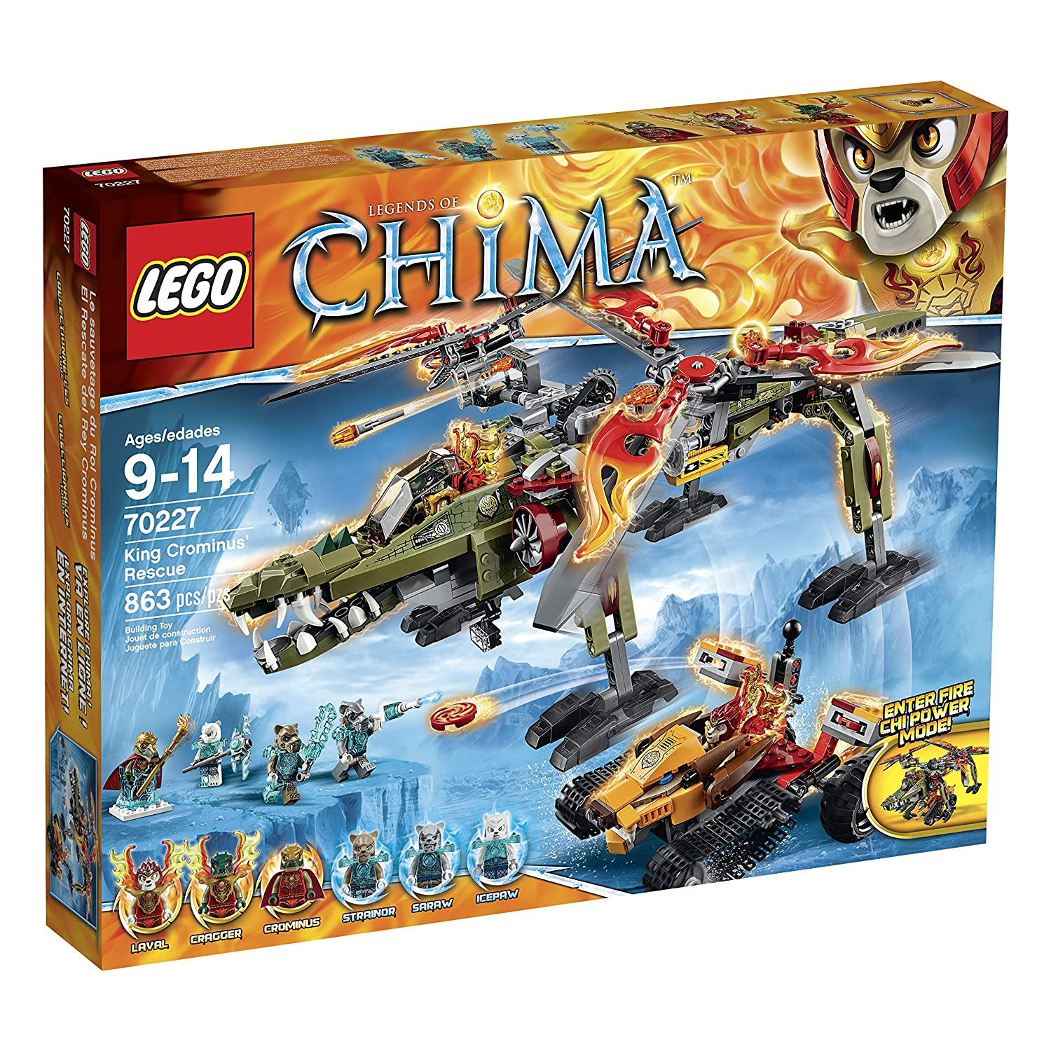 Top 9 Best LEGO Chima Sets Reviews in 2020 6