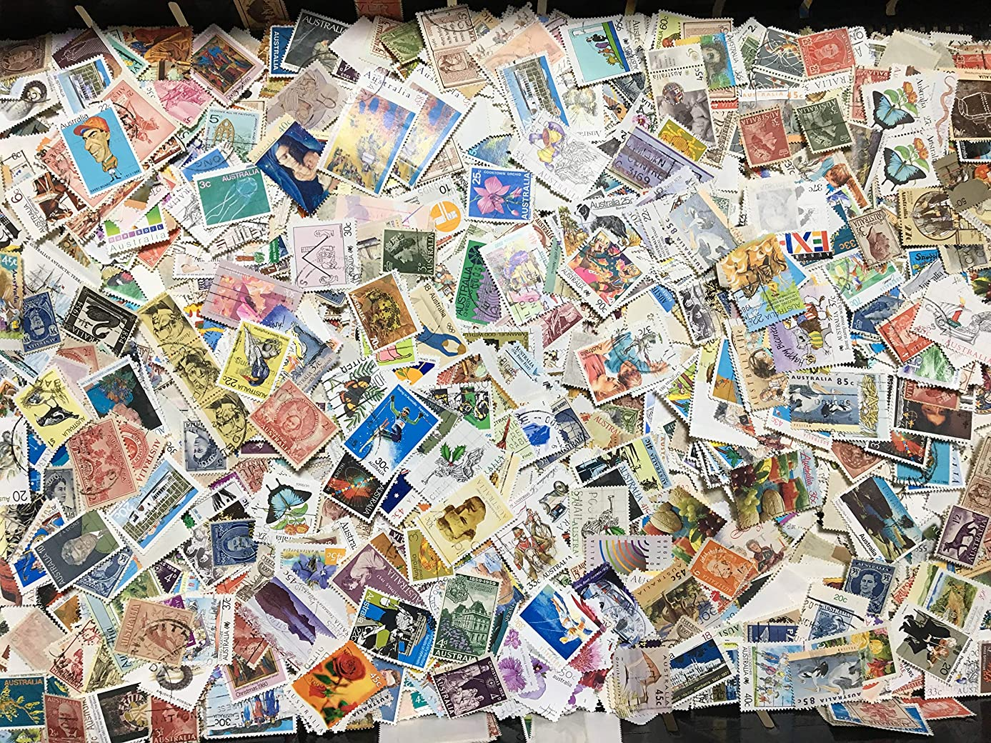 黙認する多用途エンディング外国切手 イギリス 使用済み切手 5000枚