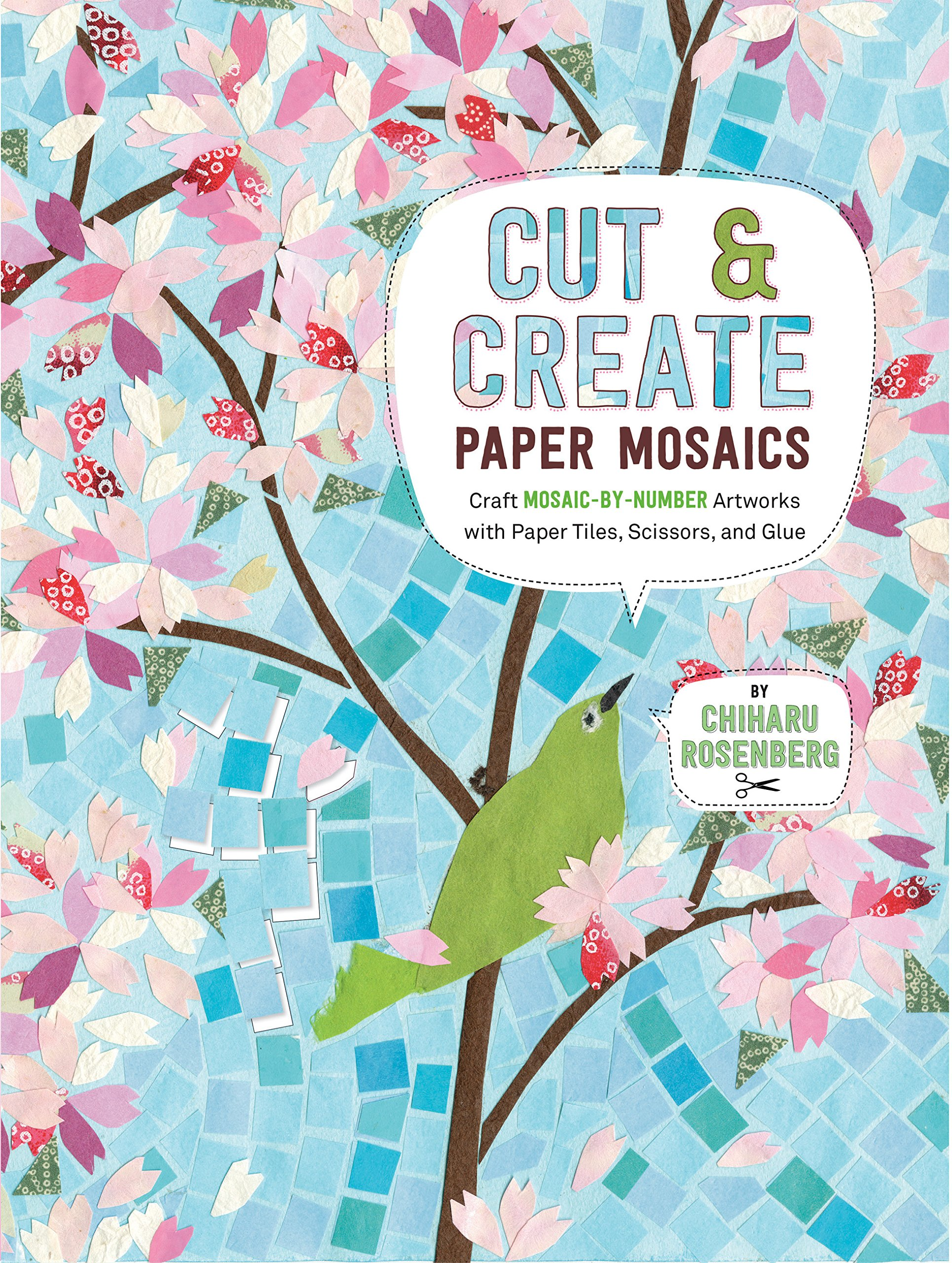 Cut And Create Paper Mosaics Craft Mosaic By Number
