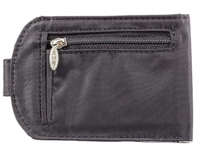 Big Skinny Womens Taxicat Bi-Fold Slim Wallet, Holds Up to ...